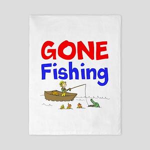 Gone Fishing Twin Duvet