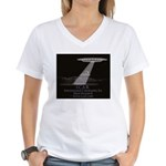ICAR  Women's V-Neck T-Shirt