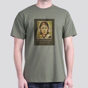 The Lady with the Lamp Dark T-Shirt