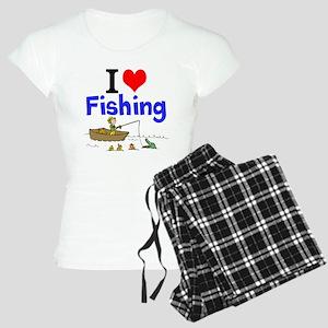 I Love Fishing Pajamas