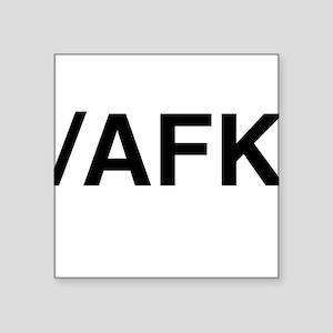 AFK Sticker