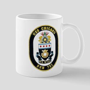 USS Chicago SSN-721 Mugs