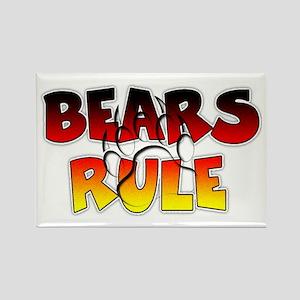 Bear Pride Bears Rule Magnets