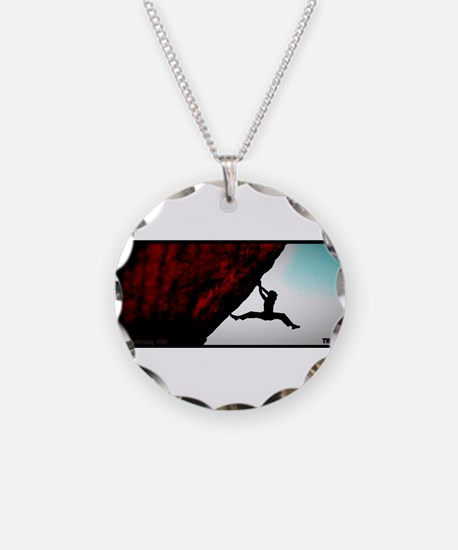 Cute Bouldering Necklace