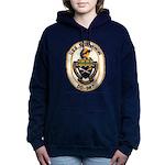 USS O'BANNON Women's Hooded Sweatshirt