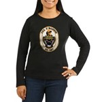 USS O'BANNON Women's Long Sleeve Dark T-Shirt