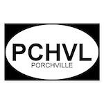 PCHVL Rectangle Sticker