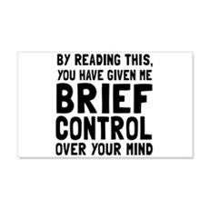 Brief control of your mind Wall Decal