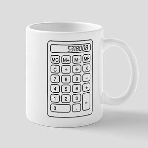 Calculator boobies Mugs
