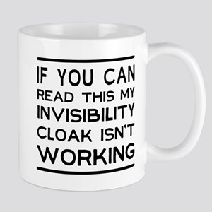 Invisibility cloak not working Mugs