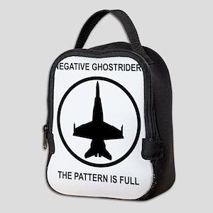 ghost1 Neoprene Lunch Bag