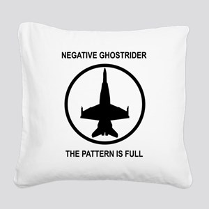 ghost1 Square Canvas Pillow