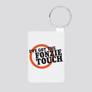 The Fonzie Touch Aluminum Photo Keychain