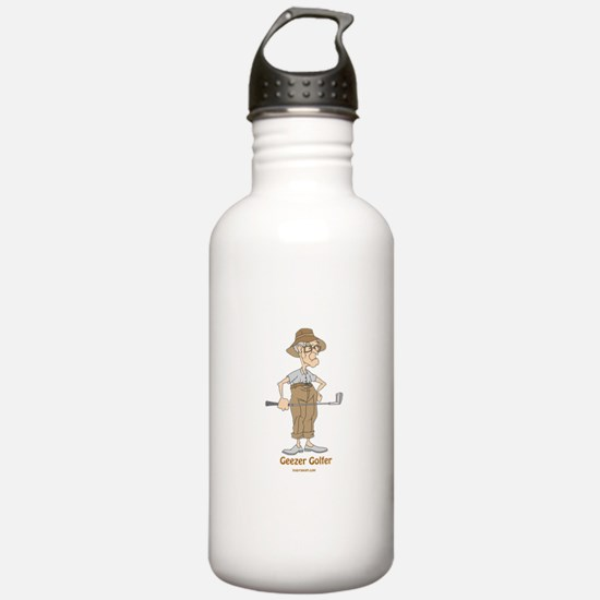 Geezer Golfer Water Bottle