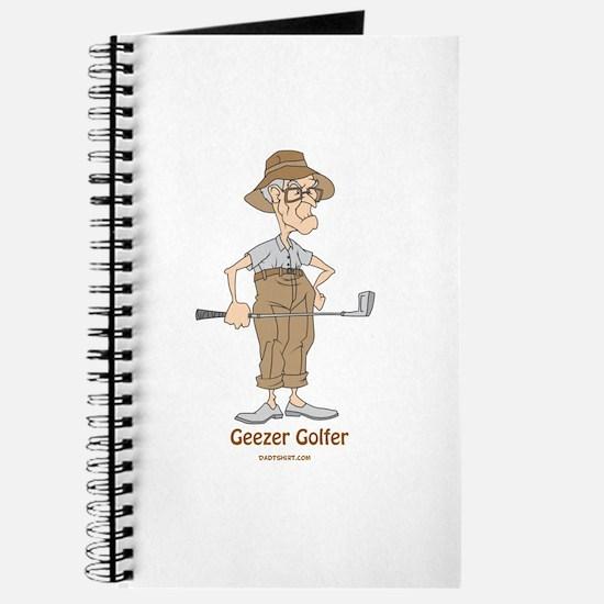 Geezer Golfer Journal