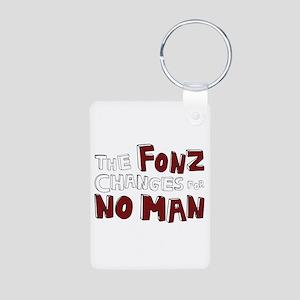 The Fonz Aluminum Photo Keychain