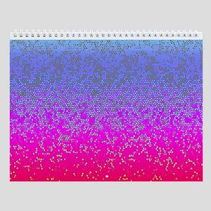 Glitter Star Dust 12 Wall Calendar