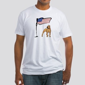 USA Pit Fitted T-Shirt