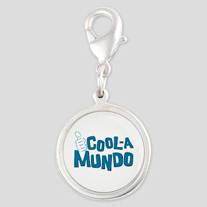 Coolamundo Silver Round Charm