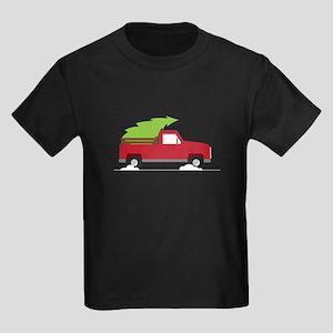 Red Christmas Truck T-Shirt