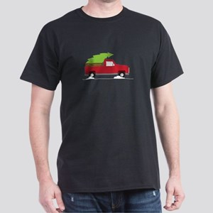 Red Christmas Truck T-Shirt