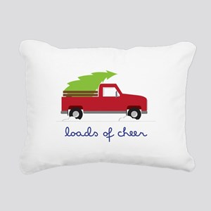Loads of Cheer Rectangular Canvas Pillow
