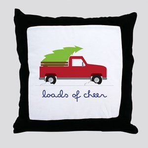 Loads of Cheer Throw Pillow