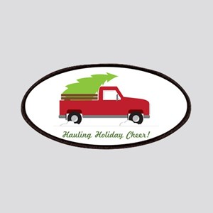 Hauling Holiday Cheer Patches