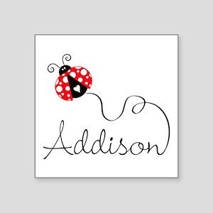 Ladybug Addison Sticker