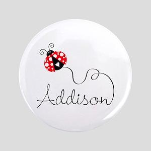 """Ladybug Addison 3.5"""" Button"""
