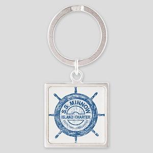 S.S. MINNOW ISLAND TOURS Keychains