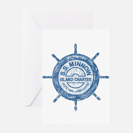 S.S. MINNOW ISLAND TOURS Greeting Cards