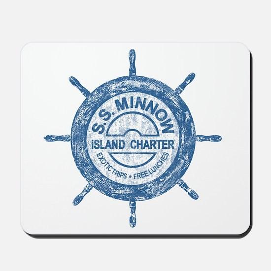 S.S. MINNOW ISLAND TOURS Mousepad