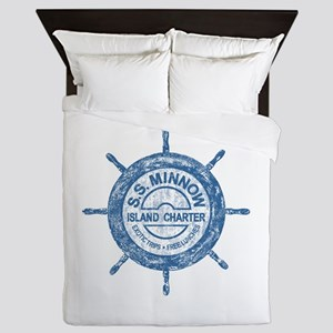 S.S. MINNOW ISLAND TOURS Queen Duvet