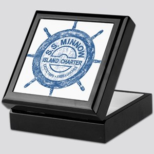 S.S. MINNOW ISLAND TOURS Keepsake Box