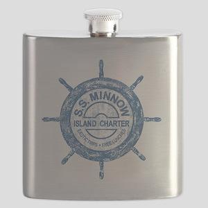 S.S. MINNOW ISLAND TOURS Flask