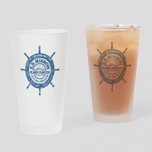S.S. MINNOW ISLAND TOURS Drinking Glass
