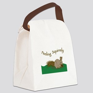 Feeling Squirrely Canvas Lunch Bag