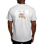 Basic T-Shirt (ash/blue/white)
