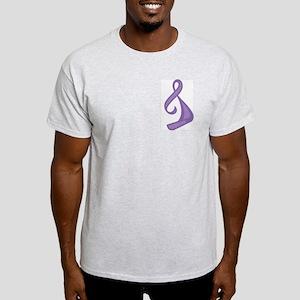 """""""Purple Ribbon Twist"""" Light T-Shirt"""
