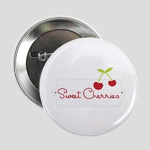 "Sweet Cherries 2.25"" Button"