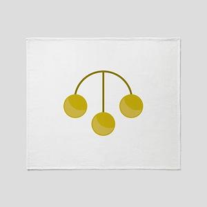 Pawnshop Gold Jewelry Throw Blanket