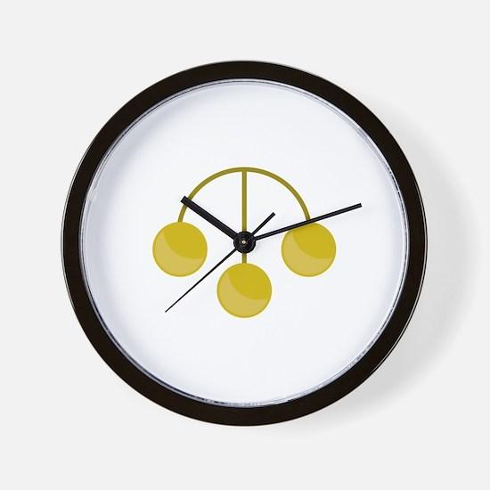 Pawnshop Gold Jewelry Wall Clock