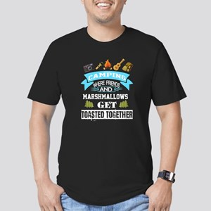 Camping Where Friends Get Toasted Together T-Shirt
