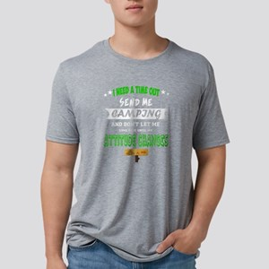 I Need A Time Out Send Me Camping T Shirt T-Shirt
