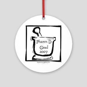 Pharm D Grad 2007 Ornament (Round)