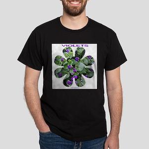 Violets Dark T-Shirt