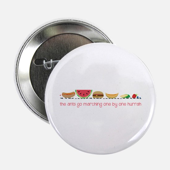 """Ants Go Marching 2.25"""" Button"""