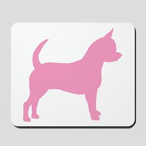 Pink Chihuahua Dog Mousepad