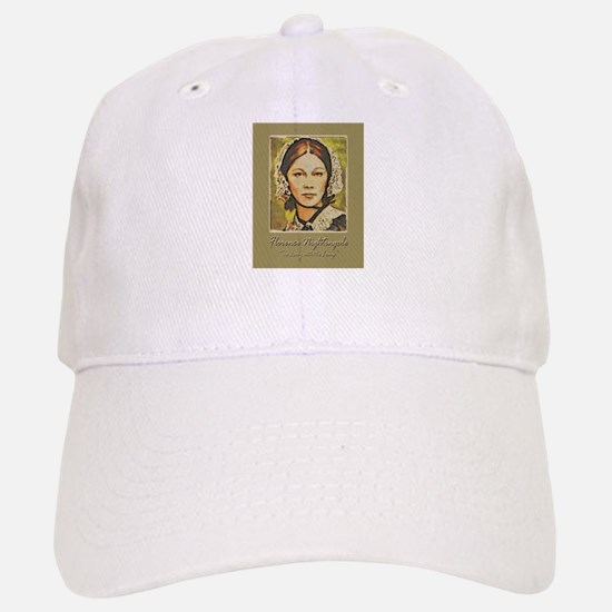 Florence Lady with Lamp Baseball Baseball Cap